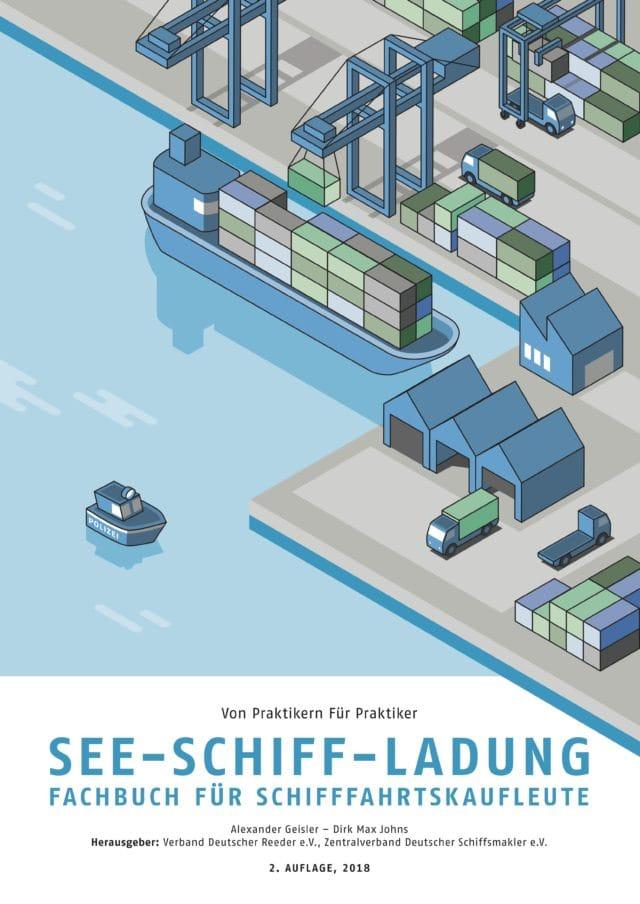 Cover VDR BUCH See-Schff-Ladung Fachbuch für Schifffahrtskaufleute 2. Auflage