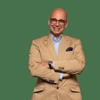 Andreas Jörß Geschäftsführer von Stern'sche Druckerei und Beratung Zeitungsdruck in Arbeitskleidung