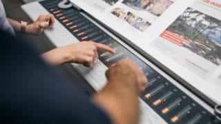 Kompetente Druckberatung Farboptimierung bei Von Stern'sche Druckerei Lüneburg
