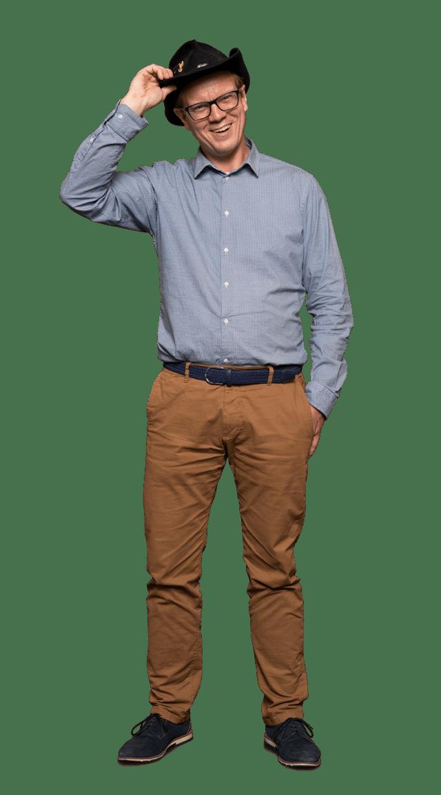 Mitarbeiter Vertriebsaußendienst Thomas Weise Druckerei von Stern'sche