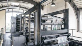 Rollen-offset Druckverfahren für den Zeitungsdruck von Stern'sche Druckerei Lüneburg