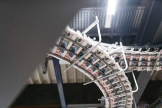 Zeitungsdruck Schlitten Hamburger Morgenpost in der Druckerei Lüneburg gedruckt
