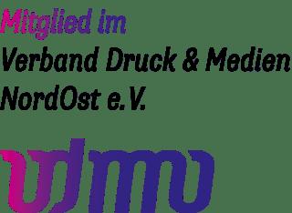 Logo vdmno Von Stern'sche Druckerei Mitglied im Verband Druck & Medien NordOst e.V.